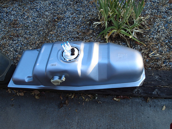 Fuel Tank change Chevy S-10