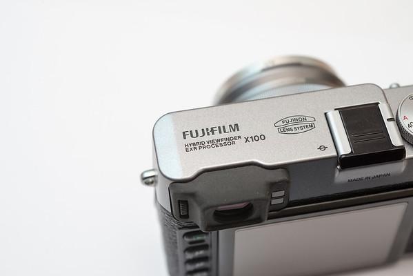 Fujifilm X100 Product Shots