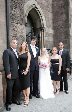 Wedding of David Hanna and Lydia Baugh at the Church of the Incarnation, NYC - June 26, 2005