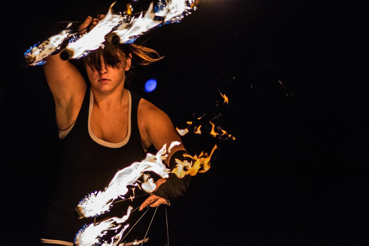 Focused on Fire