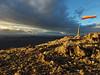 windsock on the North Peak