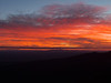 Sunday sunrise from the top of Pine Mountain
