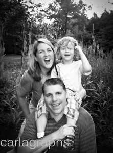 Fuller Family LiamF on Shoulders BW-