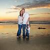 Sunset Beach Family Photo