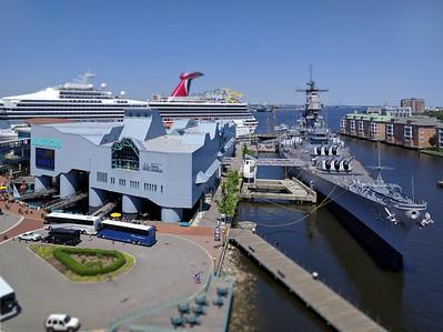 Nauticus, Wisconsin & Cruise Ship