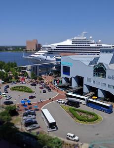 Nauticus & Cruise Ship