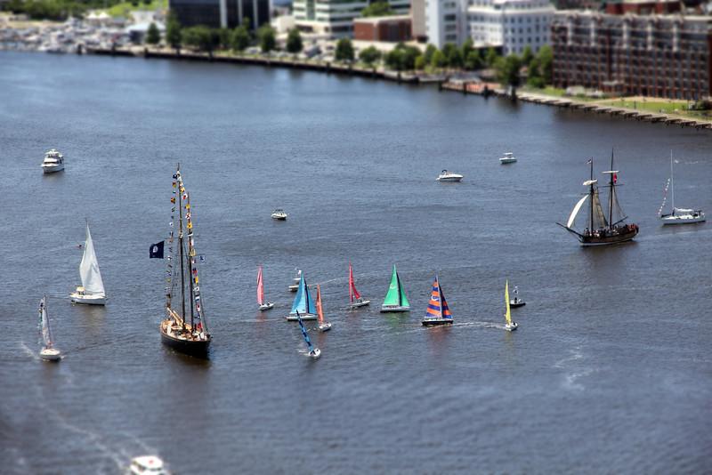 Mini Parade of Sails - Harborfest 40
