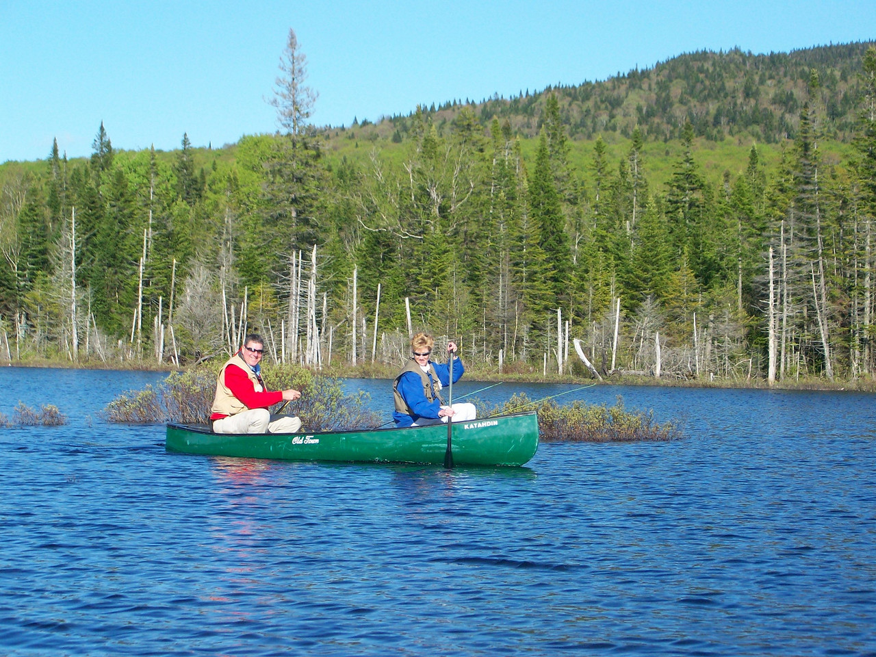 Canoeing the areas outer ponds and bogs.
