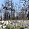 Entrance to Bowsers Cemetery.  Plans are underway to expand the perimeter for potential use by future generations.