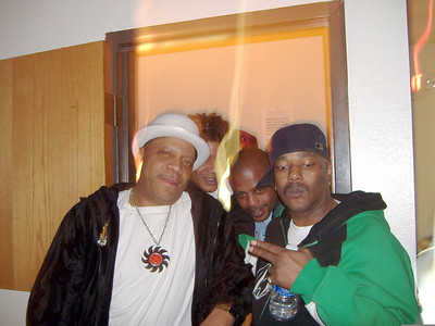 Dave and Ricky Collins. Grenadeer Club. OKC Jan. 7, 2006.