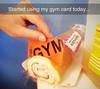 gym card