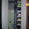 Furnace in the closet