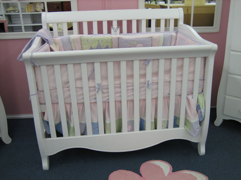 This is the crib we are most likely going to get -- but not in this color