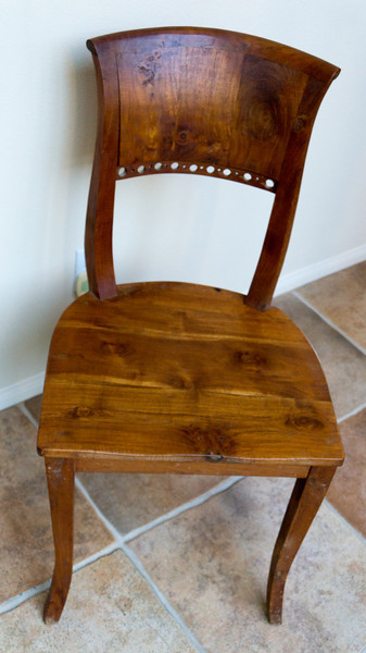 Teak Chairs (five)
