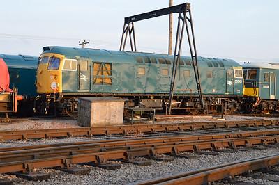 Class 26 D5343 (26043) at Toddington  14/03/15.