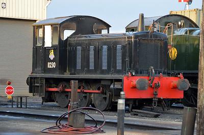 0-6-0DM 11230 at Toddington  14/03/15.