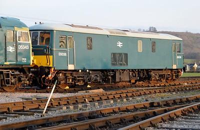 Class 73 E6036 (73129) at Toddington  14/03/15.