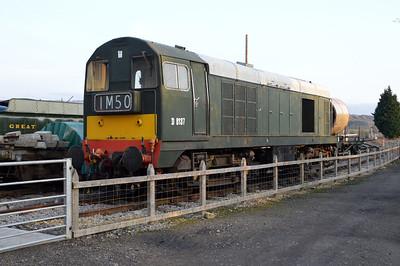 Class 20 D8137 (20137) at Toddington  14/03/15.
