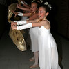 Dancers warm up in the hallway before their big performance.<br /> <br /> Photo by Chris Rourke