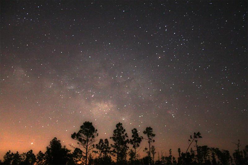 Milky Way Scape
