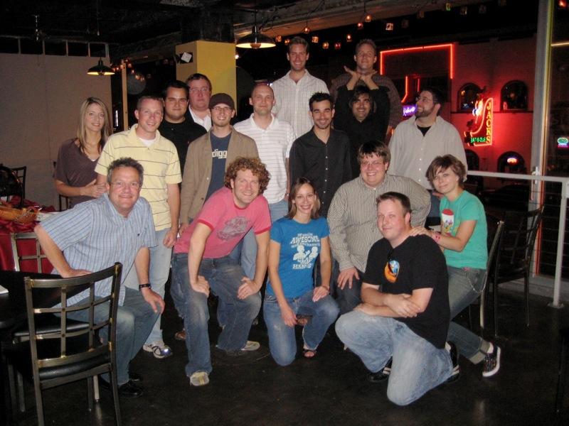 Most of us at the Meetup  At The Big Bang in Nashville