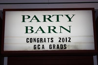 GCA GRADS 2012