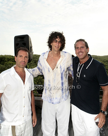 Richie Notar, Howard Stern, Ross Zapin