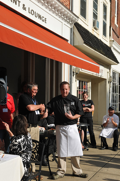 Chef Kirby wins the Great Chesapeake Balloon Festival cook off 2013