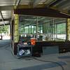 Operator control kiosk on filter deck