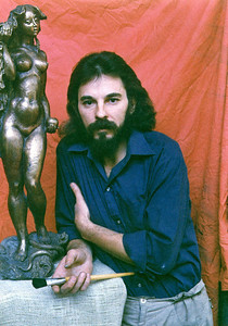 """Eve""  Brpnze   0.75 m  for Private collection.  Uzbekistan, Tashkent 1992."