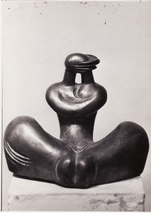 """kiss"" Bronze. Author's collection   25cm x 35cm x 20cm.  Bronze copies are owned by private collectors of  Korea, Japan & Uzbekistan.  Tashkent, Uzbekistan  1986"