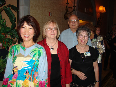 From Left: Kayleen Nightingale, Lynda Gritzmacher, Julie and Bob Bain