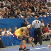 2015 NCAA Division I National Championships<br /> 197<br />  Champ. Round 1 - Kyven Gadson (Iowa St.) 30-1 won by tech fall over Basil Minto (Northern Iowa) 21-16 (TF-1.5 7:00 (19-4)