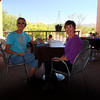 Cindy and Gail at lunch Tubac