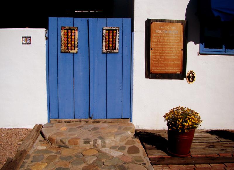 Doorway in Tubac, AZ.