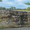 Concrete Art Work at Gainesville Depot