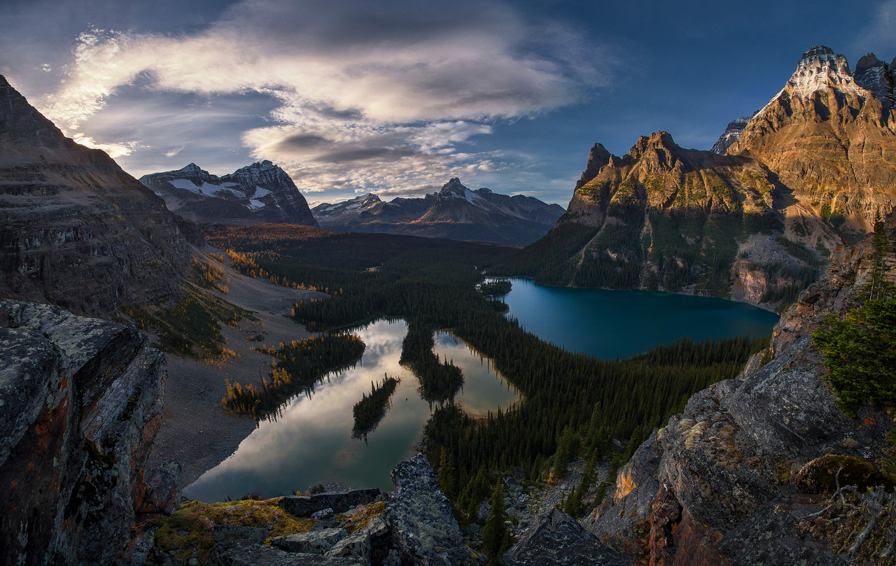 Discovering Lake O'Hara
