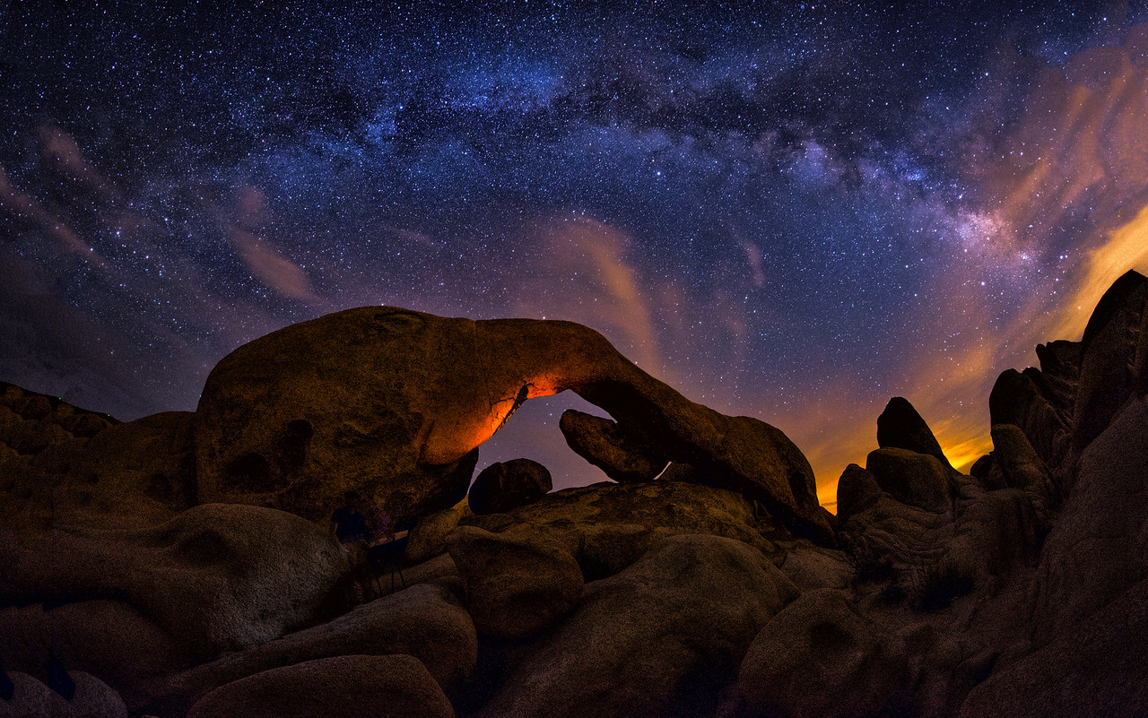 A Cosmic Night At White Tank Campground