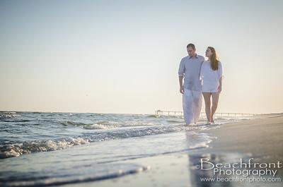 Kelsey & Justin - Beach Photography - Okaloosa Island, Fort Walton Beach/Destin
