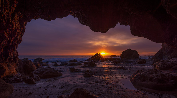 Last Rays From The Cave