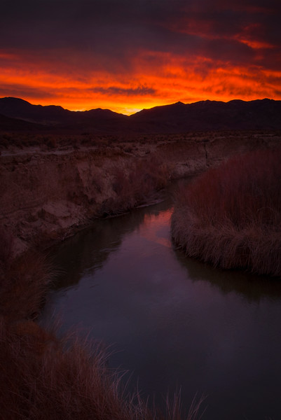 Sunrise Over The Inyo Mountains