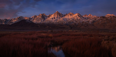 First Light On The Eastern Sierras