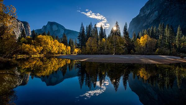 Autumn Sunrise At Yosemite