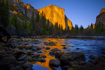 Last Rays On El Capitan
