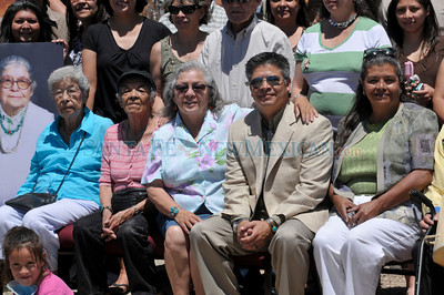 The late Feliciana Tapia Viarrial will be honored with a historic roadside marker at the Pueblo of Pojoaque on Friday. Clyde Mueller/The New Mexican