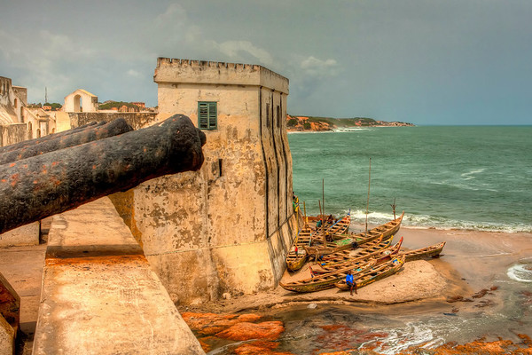 Africa 2011:  Cape Coast - the Slave Castle