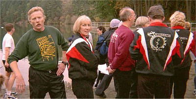 Groups - Peninsula Plodders at the Harriers' Thetis Lake Relays - 2000