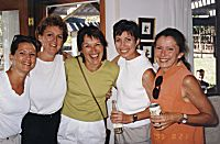 Groups - Five Prairie Inn Hellions at the 1999 Haney Warmup Corn Roast Social