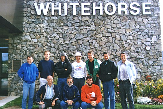 Groups - Harriers' Klondike Relay Team - 1989