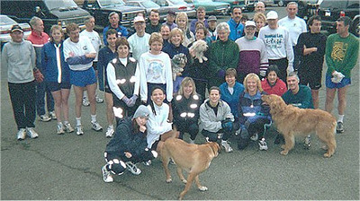 Groups - Harriers' Goldstream Club Run - February 2001